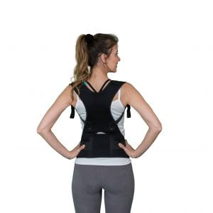 woman with Solio Back Belt back