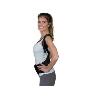 woman with Solio Back Belt side
