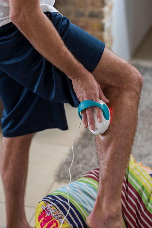 Leg treatment with Solio Alfa Plus