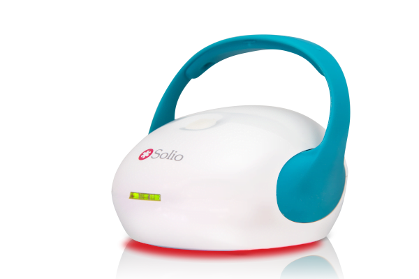 Solio Alfa Plus device with lights on